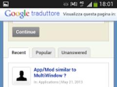 AskAndroid 2.0 Screenshot