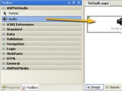 ASP.Net Audio 1.0 Screenshot