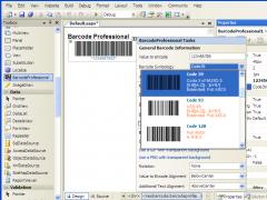ASP.NET Barcode Professional 8.0 Screenshot