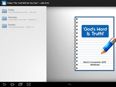 Assembly Notes (Jehovah's W.)  Screenshot
