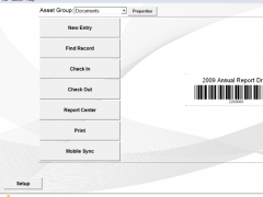 Asset Track Asset Tracking Software 6.6 Screenshot