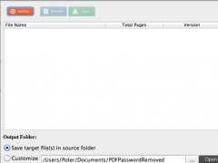 AST PDF Password Remover 1.5 Screenshot