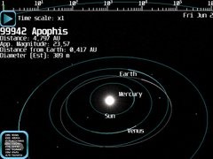 Asteroid Watch Lite 1.1.0 Screenshot