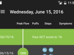 Asthma Tracker 3.0 Screenshot