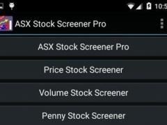 ASX Stock Screener Pro 1 Screenshot