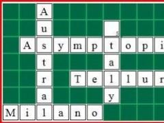 Asymptopia Math Crossword Builder  Screenshot