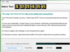 Atelier Web Firewall Tester 5.1 Screenshot
