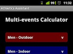 Athletics Assistant 1.3.1 Screenshot