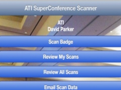 ATI SuperConference Trade Show Scanner 1.0 Screenshot