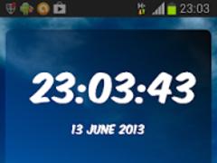 Atlético Belgrano Clock 3.10 Screenshot