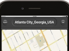 Atlanta City Georgia USA - Offline City Maps with GPS Map Navigation Tools & Travel utilities (Places & Directions) and Poi Search 10.0 Screenshot
