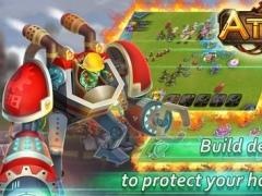 Atlantis - The Lost Islands: 3D strategy war 1.35 Screenshot
