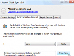Atomic Clock Sync 3.5.0.0 Screenshot
