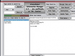 AtomicRobot Information Manager 6.0 Screenshot
