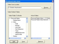 Attachment Auto Saver for Outlook 1.3 Screenshot