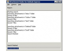 Attachment Finder for Outlook Express 2.31 Screenshot