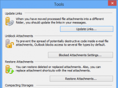 Attachments Processor for Outlook 4.5.1.0 Screenshot