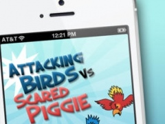 Attacking Birds vs Scared Piggies Free 1.1 Screenshot