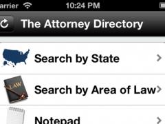 Attorney Directory 3.3 Screenshot