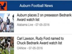 Auburn Football News 1.0 Screenshot
