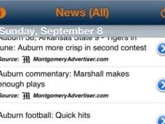 Auburn Tiger FootballBytes 4.0.0 Screenshot