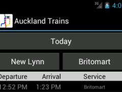 Auckland Trains 2.1 Screenshot