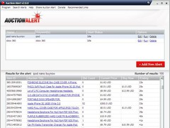 Auction Alert eBay Software 2.1.0 Screenshot