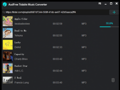 AudFree Tidal Music Converter for Free Download