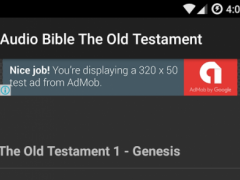 Audio Bible Old Testament 3 Screenshot