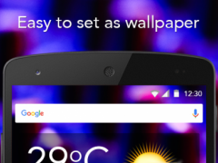 Audio Glow Wallpaper 1.2 Screenshot