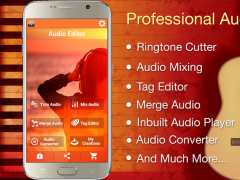 Audio MP3 Cutter Mix Converter and Free Download