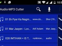 Audio-MP3 Cutter 1.0.6 Screenshot