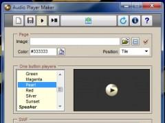 Audio Player Maker 4.4 Screenshot