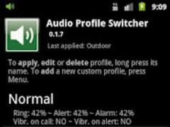 Audio Profile Switcher 0.1.7 Screenshot