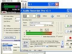 Audio Recorder Pro 3.90 Screenshot