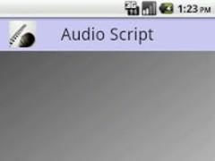 Audio Script Trial 1.06 Screenshot