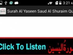 Audio Surah Yaseen Mp3 Shuraim 1.4 Screenshot