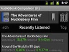 AudioBook Companion 1.162 Screenshot