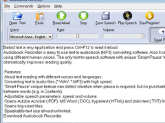 Audiobook Recorder 1.27 Screenshot