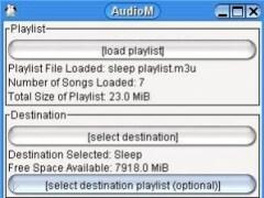AudioM - Audio Mover/Mobile 0.1.0 Screenshot