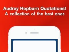 Audrey Hepburn: Idol Quotes 1.0 Screenshot