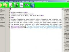 AuktionsTexter 3.43 Screenshot
