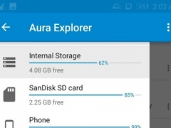 Aura App and File Manager 1.0 Screenshot