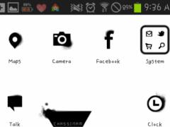 aura Go Launcher theme 1.2 Screenshot