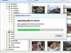 Aurigma Image Uploader Dual 7.0 Screenshot