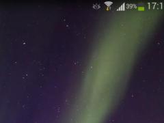 Aurora Borealis Wallpaper HD 2 2.0 Screenshot