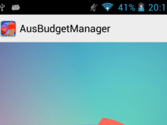 AUSBudgetManager 1.2 Screenshot