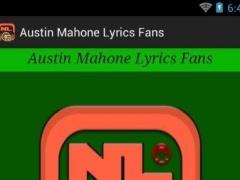 Austin Mahone Lyrics Fans 1.0 Screenshot