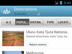 Australia Guide by Triposo 4.6.0 Screenshot