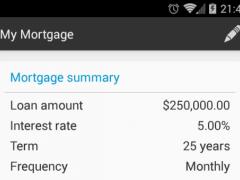 Australian Mortgage Calc Pro 1.1.3 Screenshot